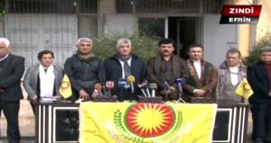 Barzani yönetiminden Afrin'deki teröristlere destek!