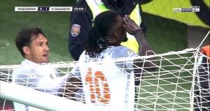 Adebayor golünü attı, Trabzonspor taraftarı alkışladı