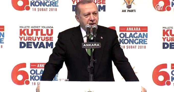 Erdoğan: DEAŞ'la savaşıp kazanan tek ülke Türkiye'dir