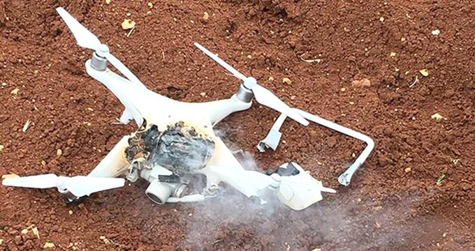 Türk mevzilerini gözetliyordu! PKK'ya ait drone düşürüldü