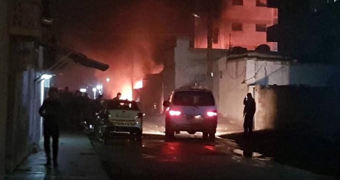 Türkiye sınırındaki Kamışlı'da büyük patlama! Ölü ve yaralılar var