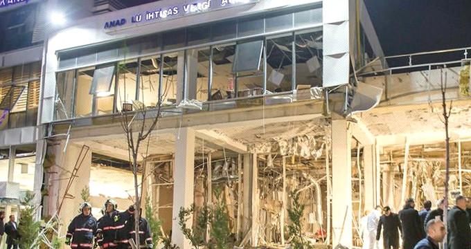 Vergi dairesindeki patlamayı YPG'nin kurduğu YAT gerçekleştirmiş