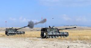 Yeni mevziler tespit edildi, obüsler yönünü Afrin'e çevirdi!