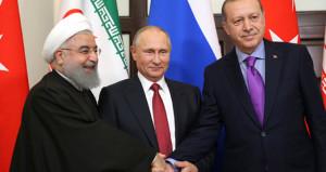 Afrin diplomasisi! Putin'den sonra Ruhani ile görüştü