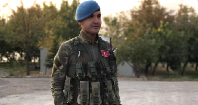 Silah arkadaşı Afrin şehidinin son anlarını anlattı: Gülüyor gibiydi