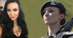 'Asker Barbie' isyan etti: 12 yıl orduda tacize uğradım, susmayacağım!