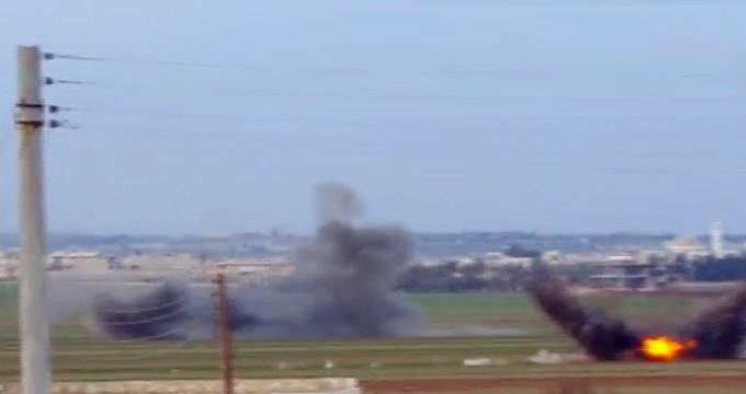 Suriye Devlet Televizyonu: Türk jetleri Afrin'de Esad güçlerini vurdu!