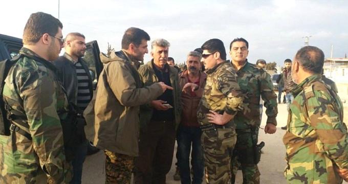 Terör örgütünden Esad askerlerine sıcak karşılama
