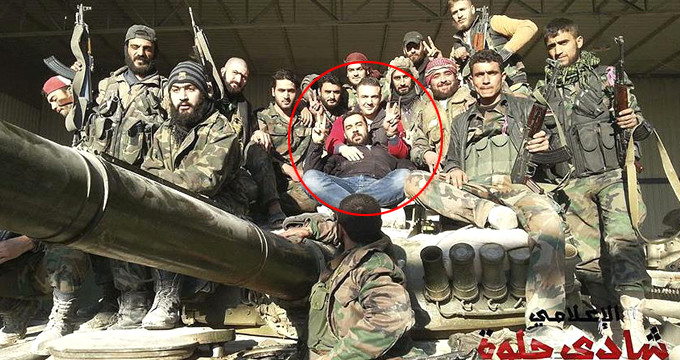 """""""Afrin merkeze girildi"""" fotoğrafını paylaşan muhabir, Esad yanlısıymış"""
