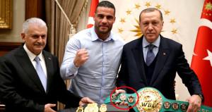 Dünya şampiyonu boksörden Erdoğan'a büyük jest!