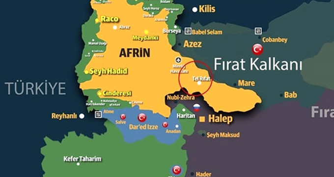PYD Esad'la terörist koridoru için stratejik Tel Rıfat'ı görüşüyor