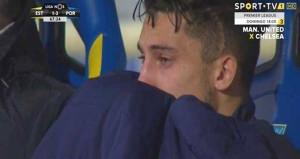 Eski Galatasaraylı Telles, yedek kulübesinde gözyaşlarını tutamadı