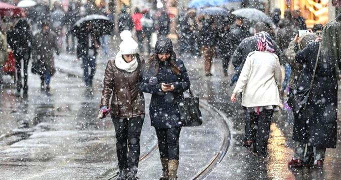 Meteoroloji gün verdi! İstanbu'da kar kapıya dayandı