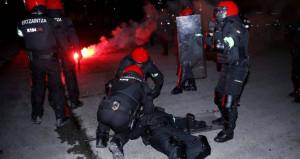 Dev maç öncesi olaylar çıktı, bir polis hayatını kaybetti