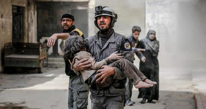 Doğu Guta'daki sivil katliamı için Türkiye'den Rusya ve İran'a çağrı