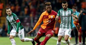 Galatasarayda Rayn Donk oyuna devam edemedi