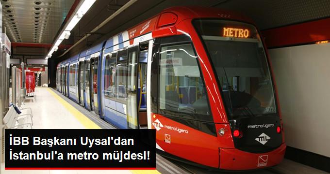 İBB Başkanı Müjdeyi Verdi: 4 Metro Hattı Yıl Sonunda Tamamlanacak