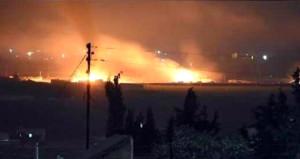 Mehmetçik, YPGye askeri malzeme taşıyan Esad yanlısı konvoyu vurdu