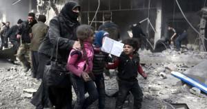 Suriyeli kız katliama böyle isyan etti: Ey Beşar senin çocuğun yok mu!