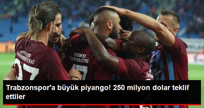Katar'da Bir Holding Trabzonspor'un Yüzde 50'si İçin 250 Milyon Dolar Teklif Etti