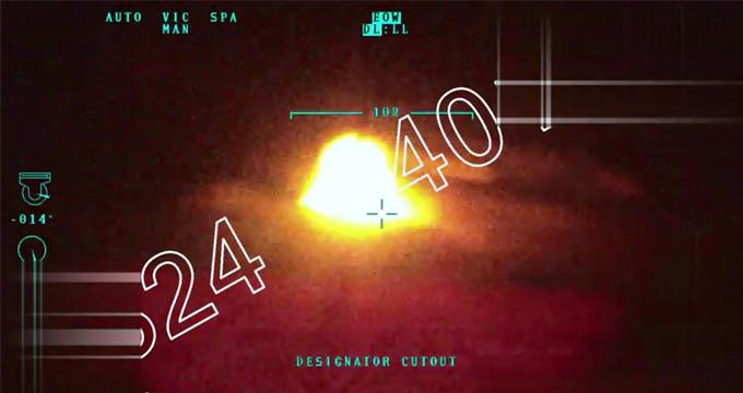 TSK görüntüleri yayınladı! Mehmetçik terör konvoyunu böyle vurmuş