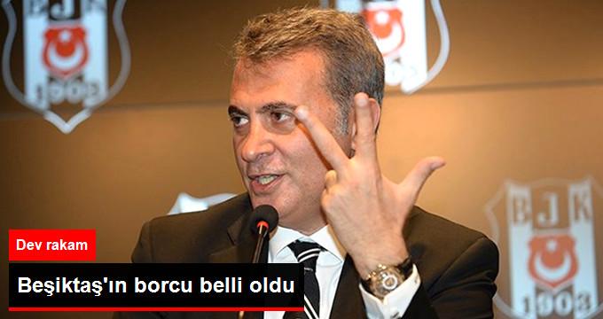Beşiktaş'ın Borcu: 1 Milyar 710 Milyon TL