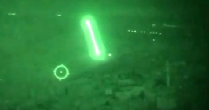 Helikopterlerin, terör hedeflerini havaya uçurduğu anlar kamerada!