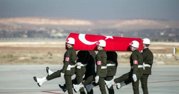 Afrin'den acı haber geldi: Bir uzman çavuş şehit