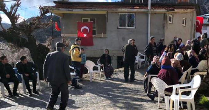 Afrin'den gelen şehadet haberi Karaman'ı yaktı