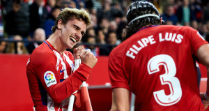 Atletico Madrid, Sevillayı darmadağın etti!