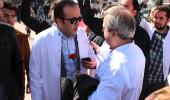 Tıp Bayramı'nda İstiklal Marşı polemiği! Doktorlar karşı karşıya geldi
