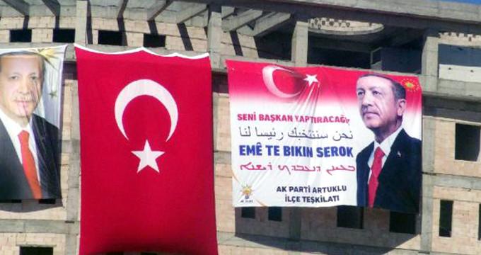 Erdoğan'a büyük sürpriz! 4 dilde aynı mesajı verdiler