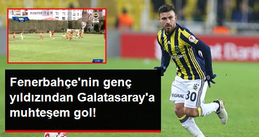 Fenerbahçe'nin Genç Yıldızı Samed Karakoç, Galatasaray'a Muhteşem Bir Gol Attı
