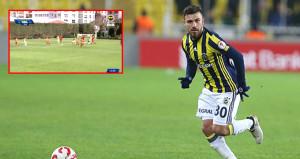 Fenerbahçenin genç yıldızından Galatasaraya muhteşem gol!