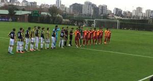 U21 derbisinde kazanan Fenerbahçe!