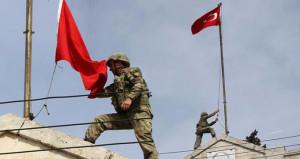 Afrine Türk bayrağı dikildi, askerin 18 Mart mesajı duygulandırdı