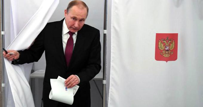 Putin rekor oyla zaferini ilan etti!