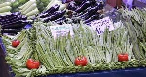 Taze fasulye ve sivri biber fiyatı etle yarışıyor