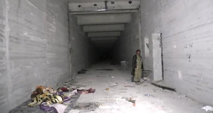 Teröristlere ait 12 odalı yer altı mühimmat deposu bulundu