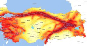 52 il merkezinin değeri değişti, işte Türkiyenin yeni deprem haritası