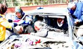 Süt kamyonu zincirleme kazaya neden olup kaçtı: 1 ölü, 3 yaralı
