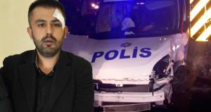 Alkollü şüpheliyi kovalarken kaza yapan polisin beli kırıldı