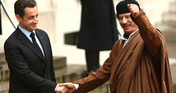 Gözaltı nedeni belli oldu! Sarkozy'i Kaddafi'nin paraları yaktı