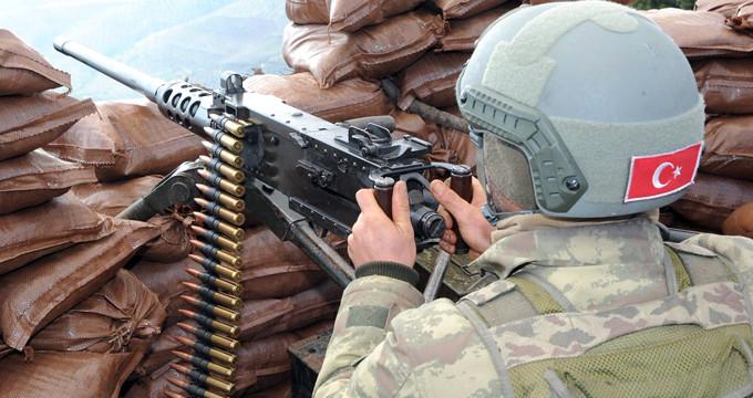Hudut karakoluna saldırmak isteyen 23 PKK'lı öldürüldü