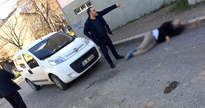 Barışmak isteyen eski sevgilisini sokak ortasında vurdu