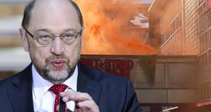 Desteklediği terör, Schulz'u da vurdu! Parti binasını işgal ettiler