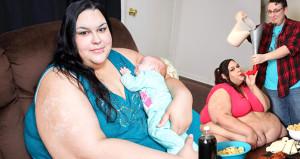 Dünyanın en şişmanı olmak için uğraştı, hamile kalınca hayatı değişti