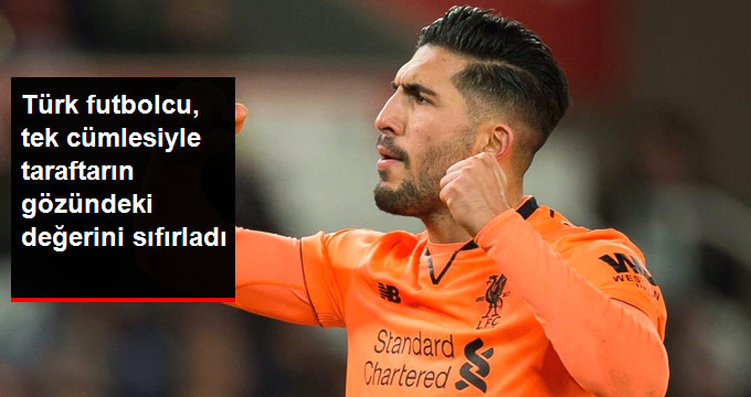 Türk futbolcu, tek cümlesiyle taraftarın gözündeki değerini sıfırladı
