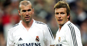 David Beckhama göre tüm zamanların en iyisi Zidane!