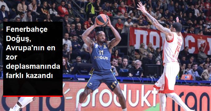 Fenerbahçe Doğuş, Avrupa nın en zor deplasmanında farklı kazandı
